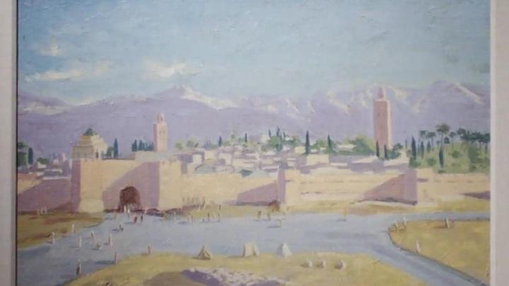 """Картину Уинстона Черчилля """"Минарет мечети Аль-Кутубия"""" продали на аукционе"""