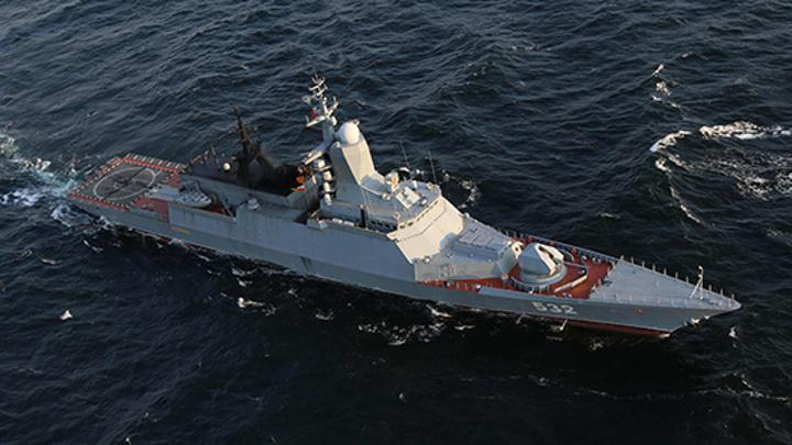 """Российский корвет """"Стойкий"""" защитит гражданские суда от пиратов"""