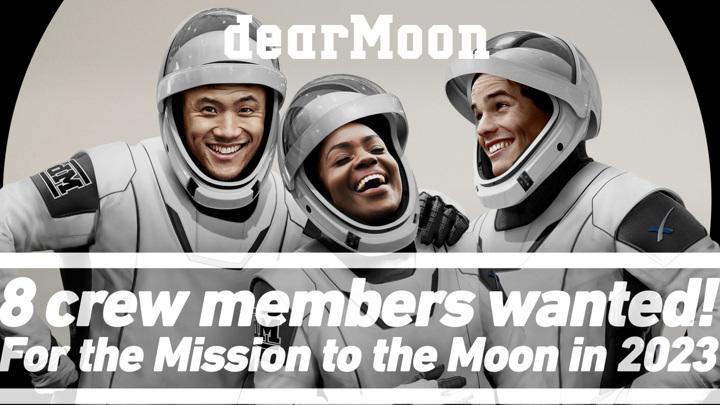 Миллиардер отберет восьмерых попутчиков для полета вокруг Луны
