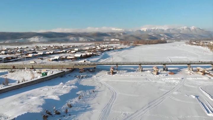 Мост, соединяющий Россию и Монголию, могут достроить к концу 2021 года