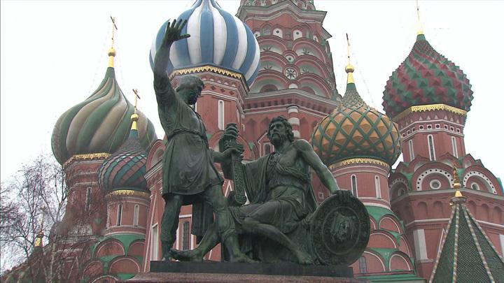 Начинается реставрация памятника Минину и Пожарскому