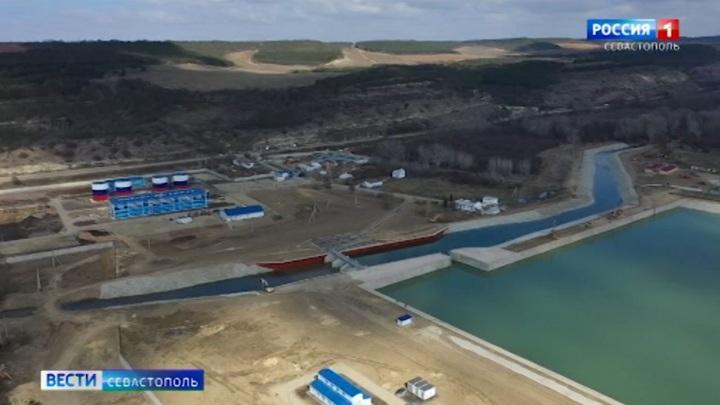 Бельбекский водозабор под Севастополем запустят на полную мощность через неделю