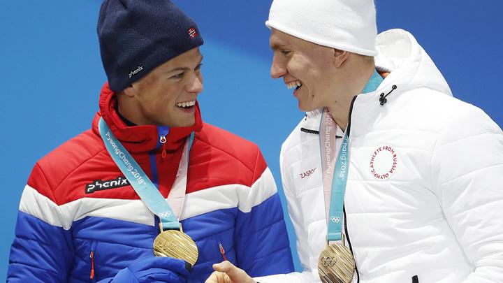 Лыжник Большунов пригласил норвежца Клэбо на свадьбу
