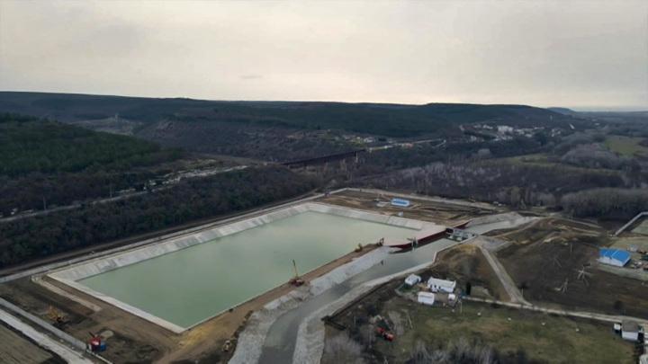 Февраль наполнил водохранилища Крыма