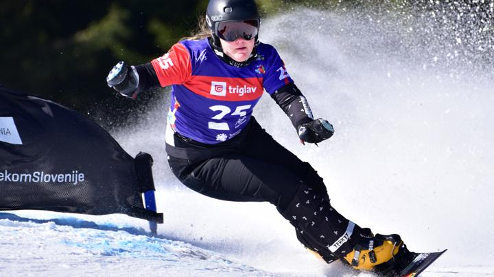 Надыршина стала второй на этапе Кубка мира по сноуборду