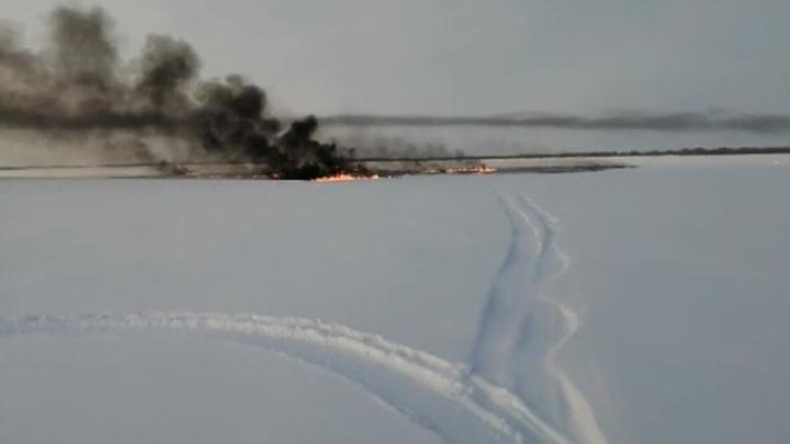 В Югре оценили риски повторного возгорания трубопровода