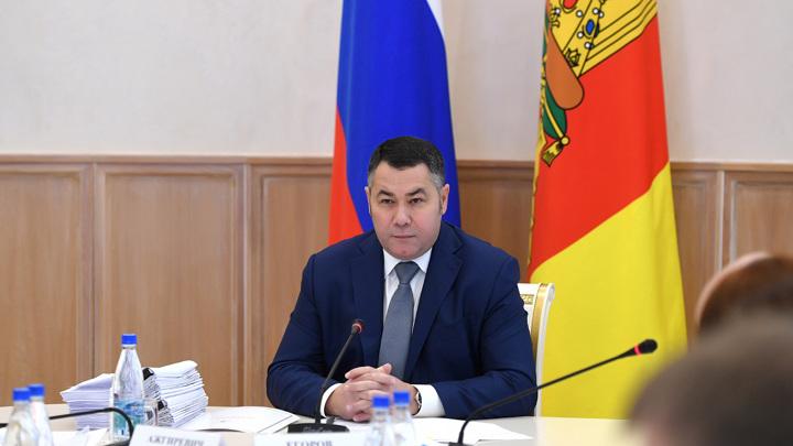 Губернатор взял под контроль ситуацию с семьями-погорельцами в Тверской области
