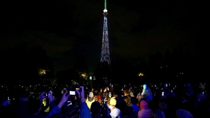 Гигантские цветы: телебашня Челябинска засияет новыми огнями
