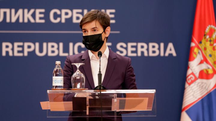 Премьер Сербии заявила о попытке переворота