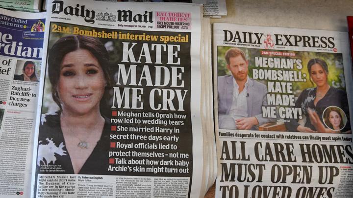 Из-за королевской семьи Меган Маркл задумалась о суициде