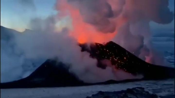 Завершилось извержение Ключевского вулкана на Камчатке