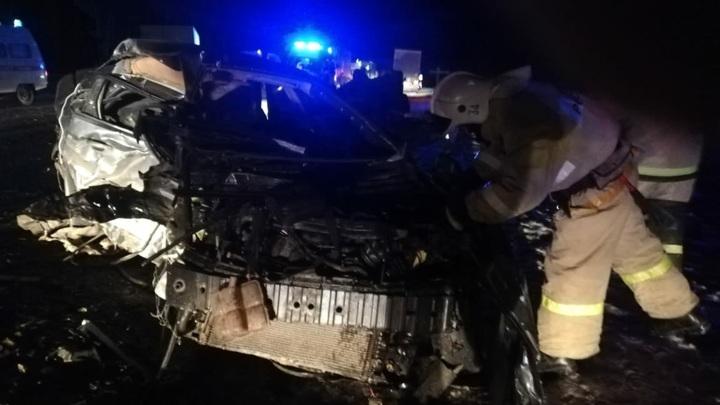 Три человека погибли во время неудачного обгона в Орловской области