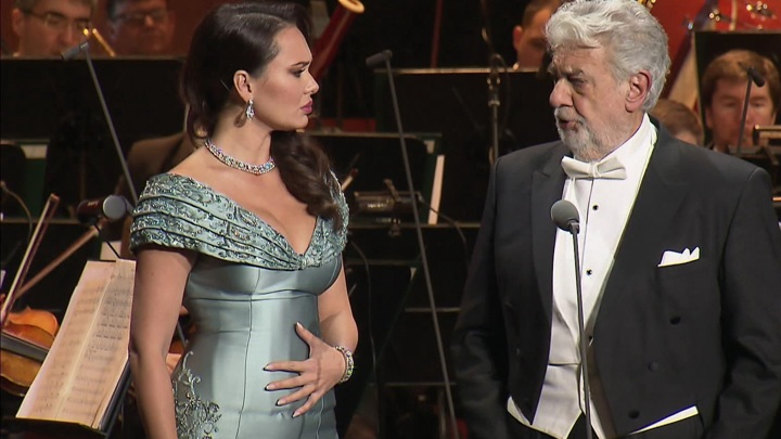 Пласидо Доминго выступил в Большом театре