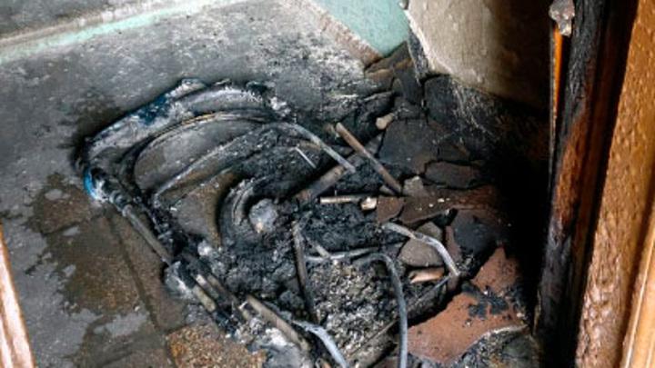 Детские коляски загораются в подъездах домов в Сарове