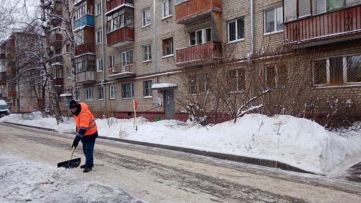Нижнему Новгороду не хватает дворников