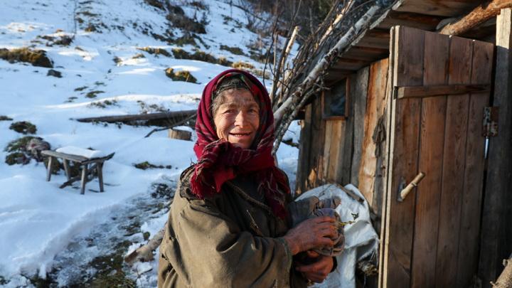 Агафья Лыкова переехала в дом, построенный Олегом Дерипаской