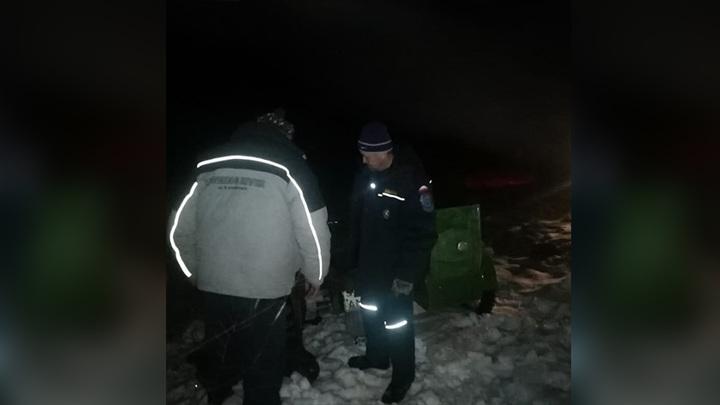 Пожарные спасли амурчанина, который провел ночью в снегу 4 часа