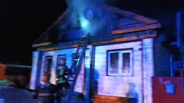 Деревню в Суздальском районе спасли от пожара