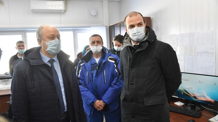 Губернатор Саратовской области посетил крупнейшую солнечную электростанцию региона