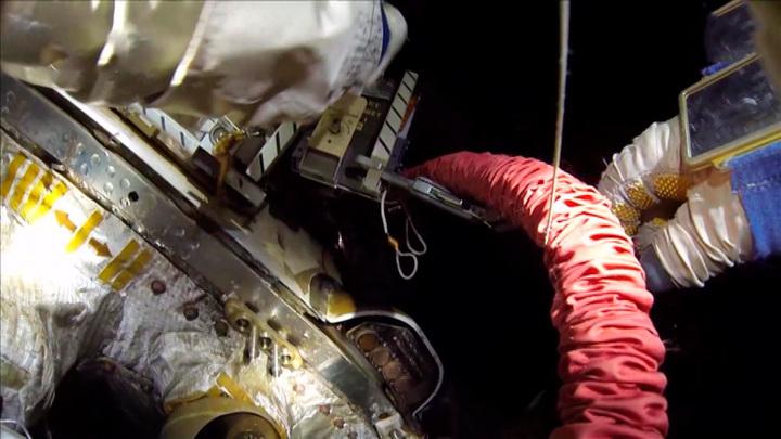 Утечка воздуха на МКС не ликвидирована