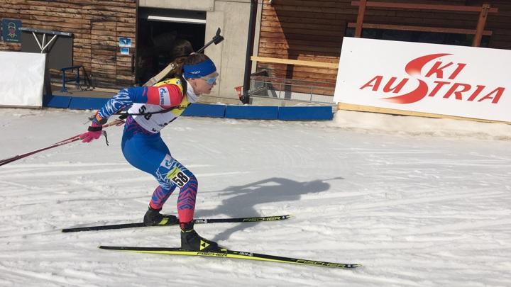Биатлон. Гореева выиграла спринт на этапе Кубка IBU