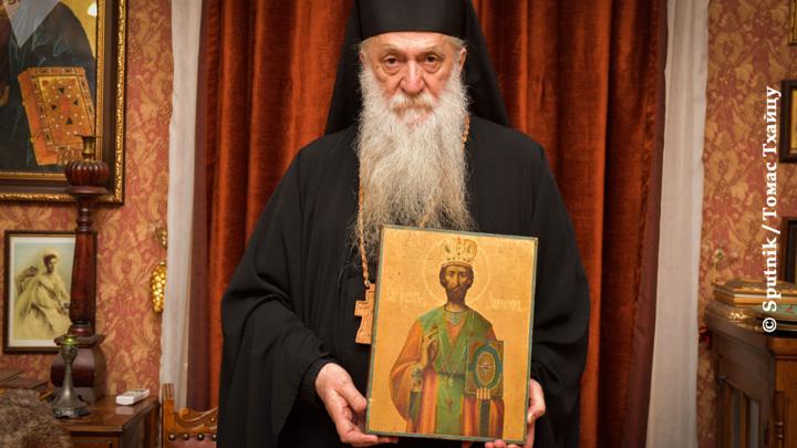 Икона XVIII века вернулась в монастырь через 27 лет после похищения