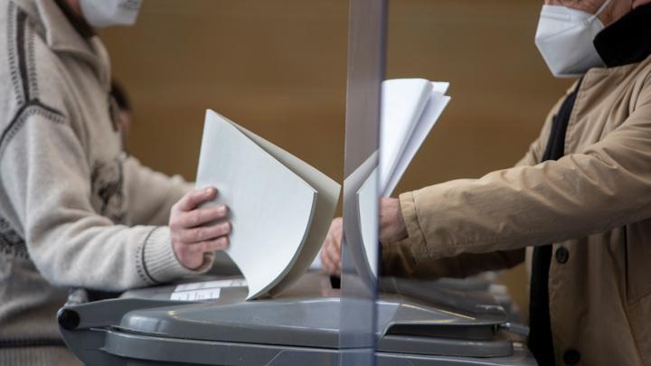Партия Ангелы Меркель лидирует на выборах в парламент Саксонии-Анхальт