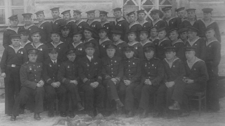 После вручения наград, декабрь 1942г