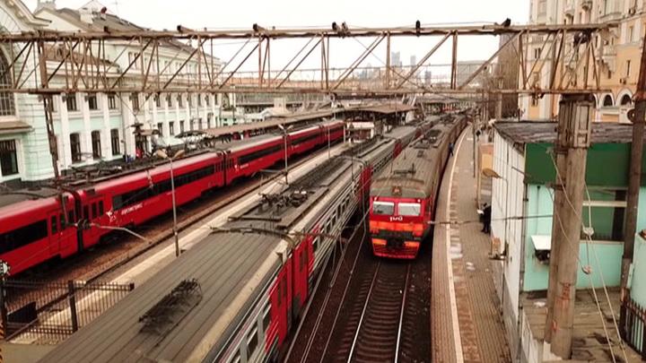 В России стали популярны путешествия на поездах