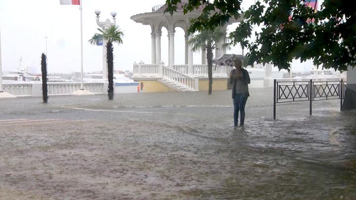 На Черноморском побережье ожидается резкое ухудшение погоды