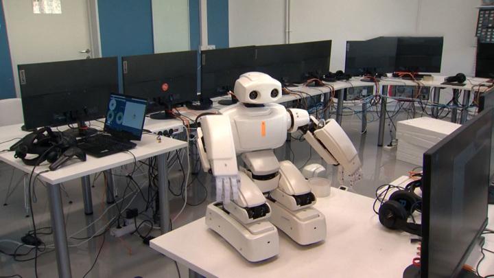 Уникального человекоподобного робота создали инженеры из Владивостока