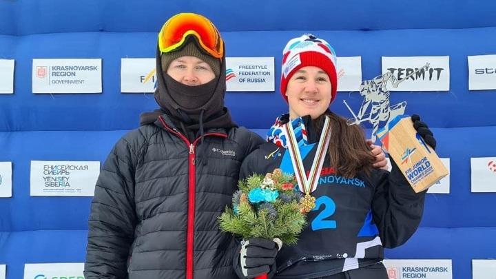 Фристайлистка Орлова завоевала золото юниорского чемпионата мира