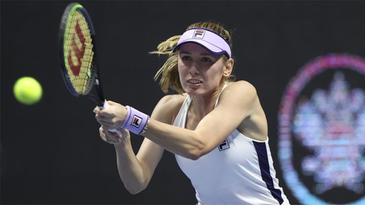 Александрова вышла в четвертьфинал теннисного турнира в Страсбурге