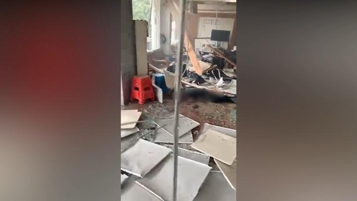 Лишившийся земли китаец устроил взрыв в здании сельской администрации