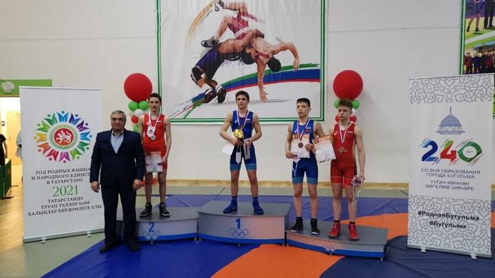 Спортсмены из Марий Эл заняли призовые места в Первенстве ПФО по греко-римской борьбе
