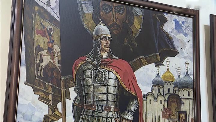 В Кировском краеведческом музее открылась выставка, посвященная Александру Невскому