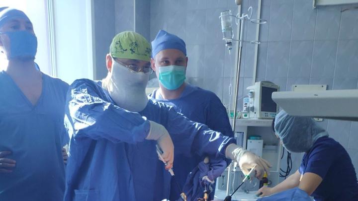 Самарские хирурги извлекли из диафрагмы ребенка 9 см стекла