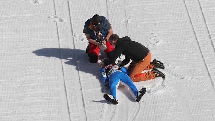 Падение олимпийского чемпиона Танде с трамплина закончилось комой