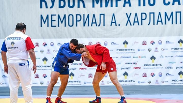 Кубок мира по самбо. Россияне выиграли 6 золотых медалей