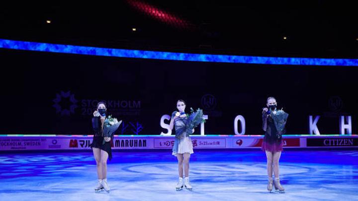 Фигуристы России выиграли общекомандный медальный зачет