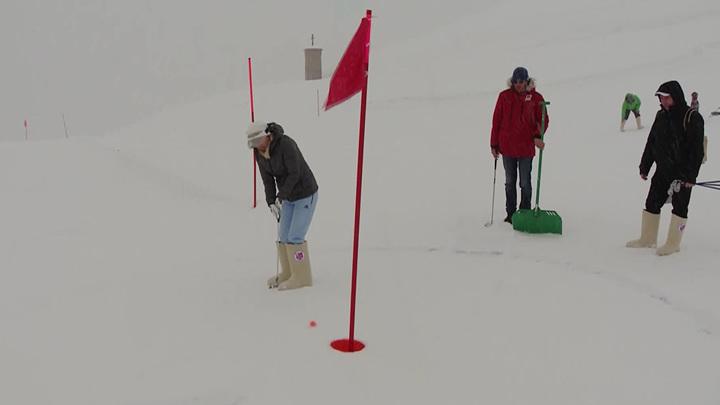 В Сочи состоялся первый в России турнир по высокогорному гольфу