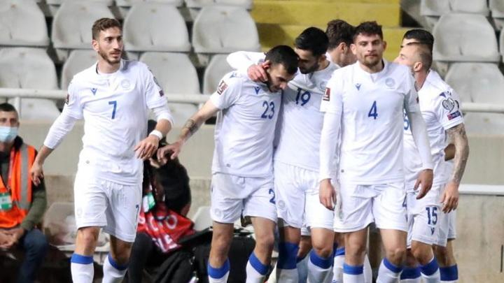 Сборная Кипра переиграла Словению в отборочном матче чемпионата мира