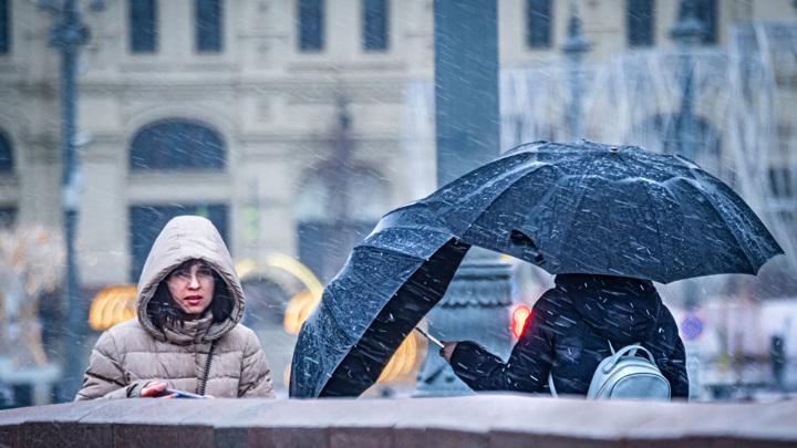 В Москве ожидаются ливневые дожди и грозы