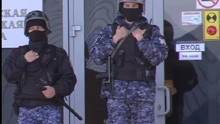 МЧС не обнаружило подозрительных предметов в администрации Тюмени