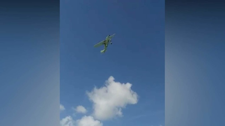 Самолет с туристами рухнул в море близ Канкуна