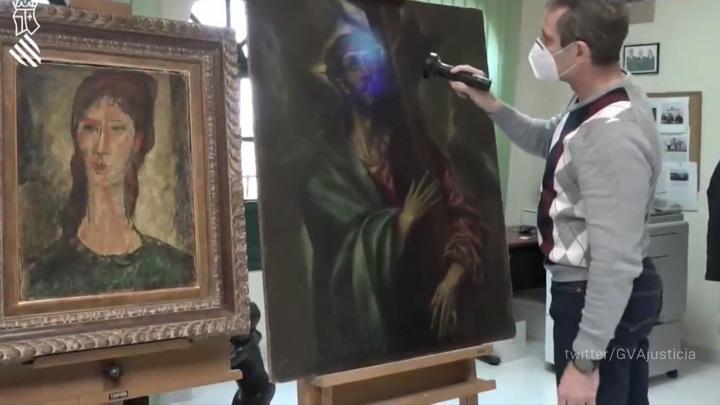 Испанский коллекционер выставил напродажу поддельные картины Модильяни, Эль Греко иГойи