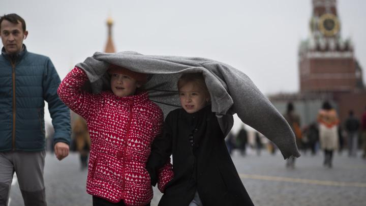 В начале лета Москву ожидает осенняя погода
