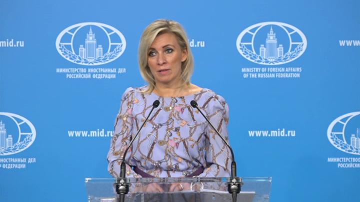Захарова: НАТО подстрекает Украину к эскалации конфликта на Донбассе