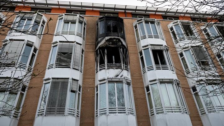 Три пациента скончались от пожара в берлинской больнице