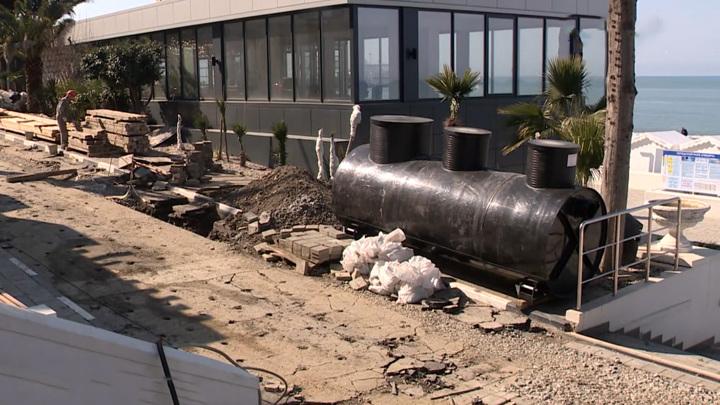При реконструкции набережной в Сочи полностью поменяют инженерные коммуникации